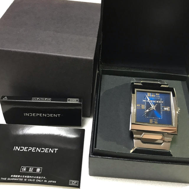 INDEPENDENT - インディペンデント メンズ 腕時計の通販 by なつこ's shop|インディペンデントならラクマ