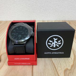 アライブアスレティックス(Alive Athletics)の◆新品未使用◆ALIVE腕時計 BIG CITY  gunmetal(腕時計(アナログ))