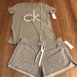 カルバンクライン(Calvin Klein)のカルバンクライン ルームウェア M ショートパンツ Tシャツ(ルームウェア)