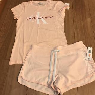 カルバンクライン(Calvin Klein)のカルバンクライン ルームウェア ショートパンツ Tシャツ S(ルームウェア)