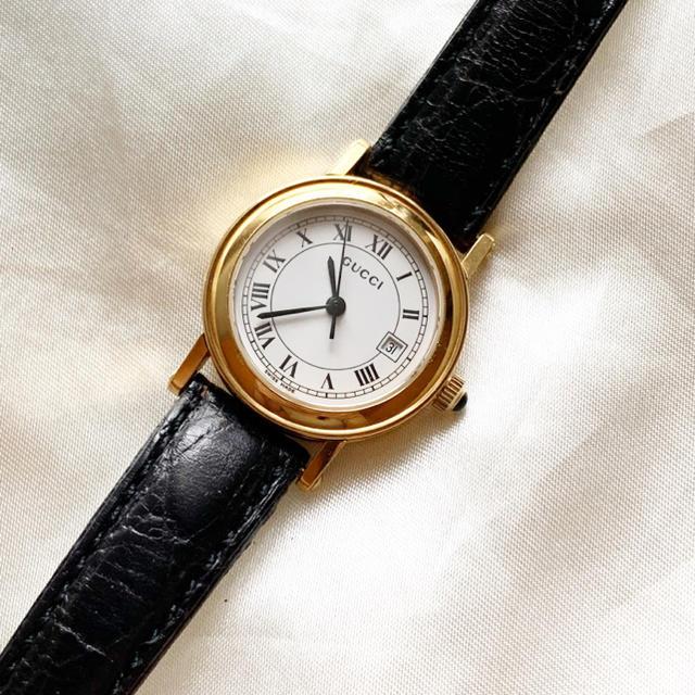 Gucci - 稼働品 美品!グッチ レディース腕時計の通販 by BF_大幅値下げ不可!|グッチならラクマ