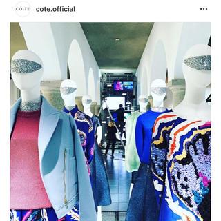 バーニーズニューヨーク(BARNEYS NEW YORK)のcote  スカート  新品(ひざ丈スカート)