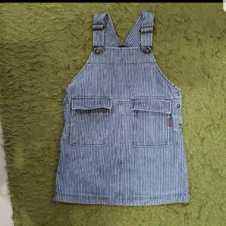 ティンカーベル(TINKERBELL)のティンカーベル☆ジャンパースカート☆デニムスカート☆100サイズ(ワンピース)