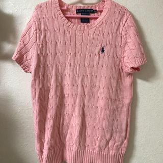 ラルフローレン(Ralph Lauren)の綿セーター(カットソー(半袖/袖なし))