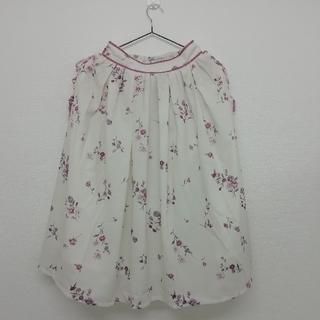 リズリサ(LIZ LISA)のノスタルジックフラワースカート LIZ LISA(ひざ丈スカート)