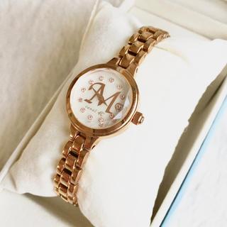 ヨンドシー(4℃)の美品☆ canal 4°C  レディース腕時計 クォーツ(腕時計)