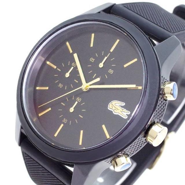 LACOSTE - ラコステ LACOSTE 腕時計 メンズ 2011012 クォーツ ブラック の通販 by スマートサービス's shop|ラコステならラクマ