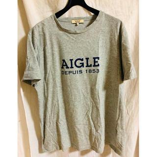 エーグル(AIGLE)のAIGLEロゴTシャツ(Tシャツ/カットソー(半袖/袖なし))