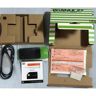 エーユー(au)のWiMax2+ W04 ポケット WI-FI(その他)