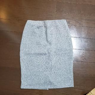 ケービーエフ(KBF)のKBF 裏起毛 スカート(ひざ丈スカート)