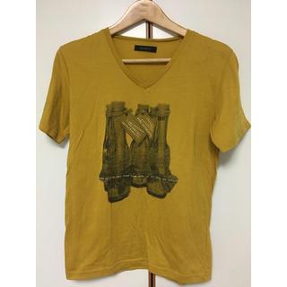 レイジブルー(RAGEBLUE)のTシャツ RAGEBLUE イエロー 黄色 マスタード からし色(Tシャツ/カットソー(半袖/袖なし))