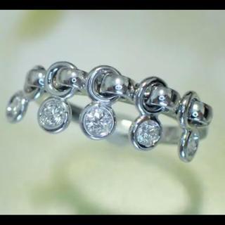 クリスチャンディオール(Christian Dior)のディオール 750 コキーヌ ダイヤモンド リング Dior 8号 48(リング(指輪))