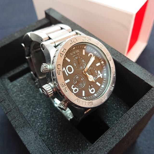 NIXON - NIXON【THE 42-20 CHRONO】ニクソン腕時計★稼働品★送料無料の通販 by エイプス's shop|ニクソンならラクマ