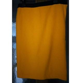 ルシェルブルー(LE CIEL BLEU)のウールスカート(ひざ丈スカート)