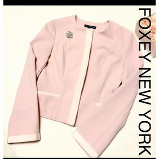 フォクシー(FOXEY)のfoxey new york♡ ジャケット 40 (テーラードジャケット)
