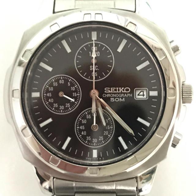 SEIKO - 腕時計 セイコー クロノグラフ の通販 by そだねshop|セイコーならラクマ