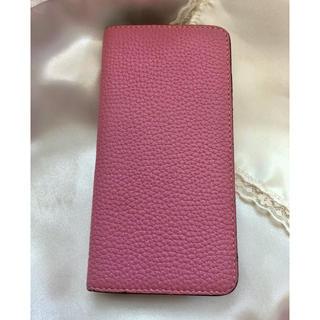 エルメス(Hermes)のボナベンチュラ BONAVENTURA iPhoneケース ピンク(iPhoneケース)