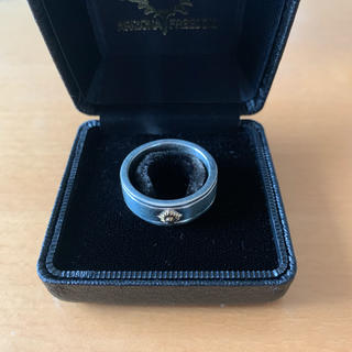 アリゾナフリーダム(ARIZONA FREEDOM)の新品 アリゾナフリーダム 8mmゴールド小太陽神付きライン入りリング 23号(リング(指輪))
