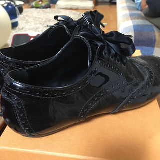 トッズ(TOD'S)のTOD'S junior 34 値下げ(ローファー/革靴)