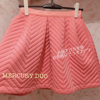 MERCURYDUO - スカート milaowen mischmasch deicy リランドチュール
