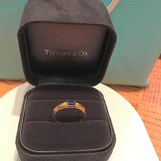 ティファニー(Tiffany & Co.)のティファニー★サファイヤリング(リング(指輪))