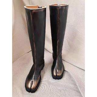 エムエムシックス(MM6)のMM6・新品長靴デザイン(レインブーツ/長靴)