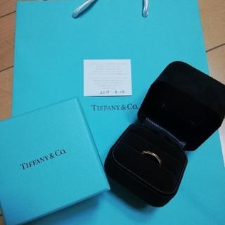 ティファニー(Tiffany & Co.)の【お値下げ】ティファニークラシック ミルグレイン バンドリング(リング(指輪))