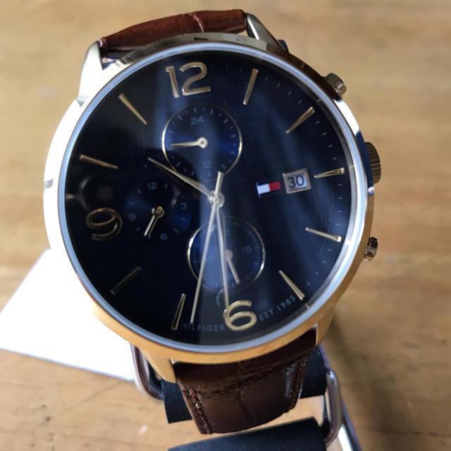 TOMMY HILFIGER - 新品✨トミーヒルフィガー クオーツ メンズ 腕時計 1710359の通販 by てっちゃん(´∀`)|トミーヒルフィガーならラクマ
