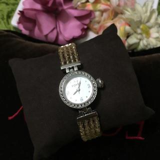 フォクシー(FOXEY)の新品フォクシー❤︎ジュエルウォッチ 腕時計 ブレスレット(腕時計)