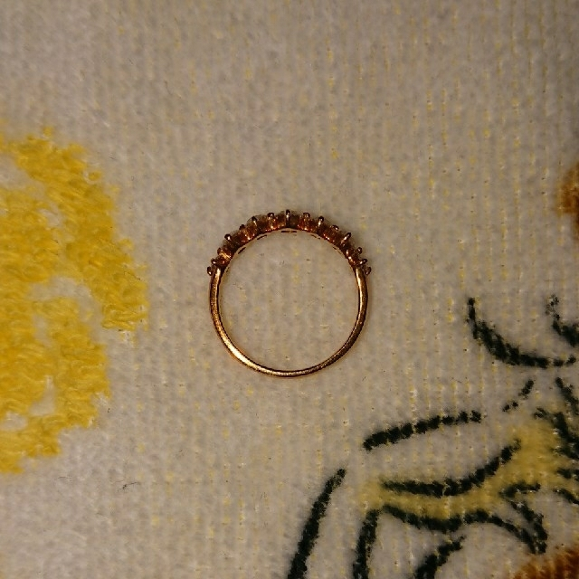k18 ダイヤモンドリング【lian】リアン レディースのアクセサリー(リング(指輪))の商品写真
