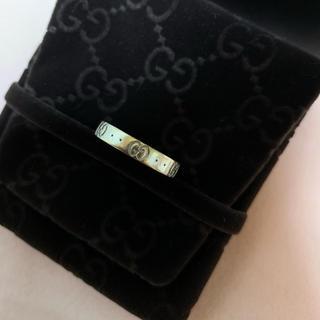 グッチ(Gucci)のGUCCI アイコンリング(Au750  K18)(リング(指輪))
