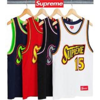 Supreme - supreme basketball タンクトップ バスケ NBA ユニフォーム