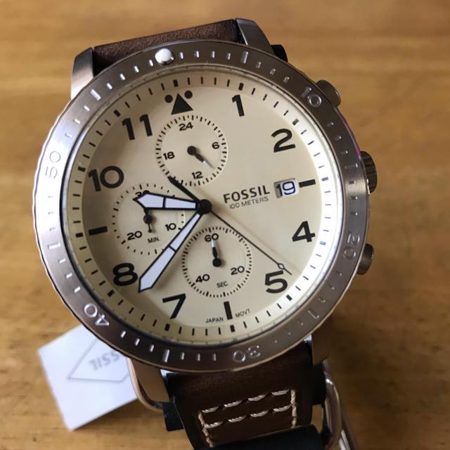 FOSSIL - 新品✨フォッシル FOSSIL クオーツ メンズ 腕時計 CH3084の通販 by てっちゃん(´∀`)|フォッシルならラクマ