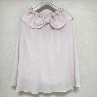 vintage フレアスカート(ひざ丈スカート)