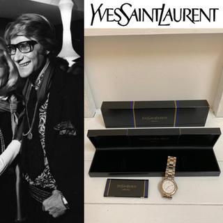 サンローラン(Saint Laurent)のYVES SAINT LAURENT VINTAGE 稼動品 腕時計 メンズ時計(腕時計(アナログ))