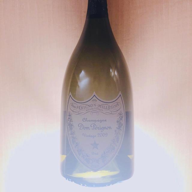 Dom Pérignon(ドンペリニヨン)の【未開栓×1本】箱なし ドンペリ白2009/750ml★ 食品/飲料/酒の酒(シャンパン/スパークリングワイン)の商品写真
