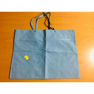 ミナペルホネン(mina perhonen)のミナペルホネン ショッパー ライトブルー(ショップ袋)