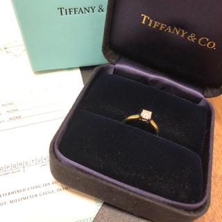 ティファニー(Tiffany & Co.)のティファニー ルシダ 0.44カラット  K18YG 10号 E-VS2(リング(指輪))