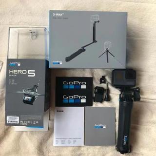 GoPro - GoProHERO5 正規品3way、ケース、ネックストラップ