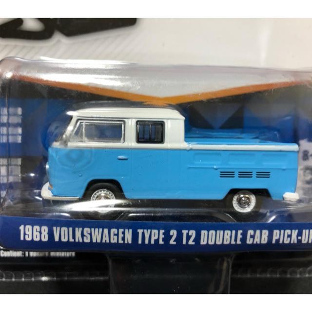 Volkswagen(フォルクスワーゲン)のGREENLIGHT V-DUB VOLKSWAGEN アメ車 LOWRIDER エンタメ/ホビーのおもちゃ/ぬいぐるみ(ミニカー)の商品写真
