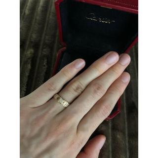 カルティエ(Cartier)の最終値下げ確実正規品Cartier カルティエ ラブリング パヴェ フルダイヤ (リング(指輪))