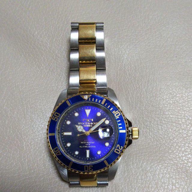 TECHNOS - 稼働品 TECNOS テクノス TAM-629 メンズ 腕時計の通販 by プーさん's shop|テクノスならラクマ