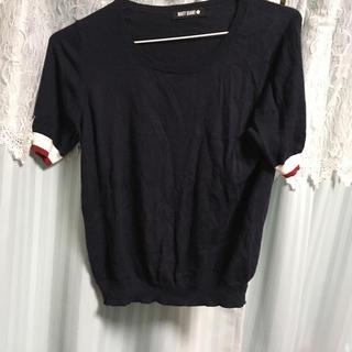 マリークワント(MARY QUANT)のマリークワント サマーニット カットソー トップス(Tシャツ(半袖/袖なし))