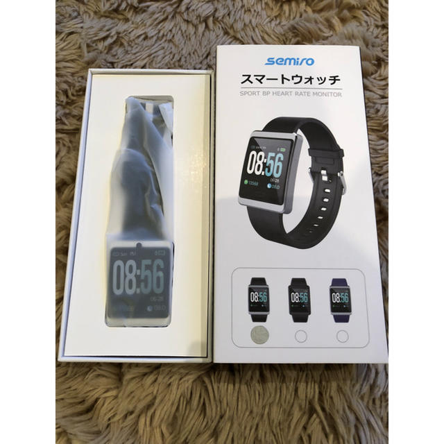 新品未使用 Semiroスマートウォッチの通販 by pinoko  shop|ラクマ