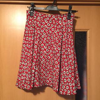 ミュウミュウ(miumiu)の〈coco様専用〉MIUMIU 花柄フレアスカート(ひざ丈スカート)