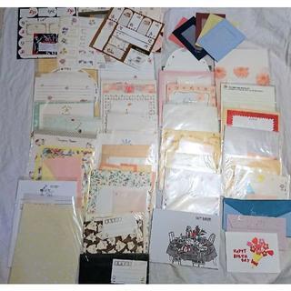 便箋&封筒☆まとめ売り 約30種類(ノート/メモ帳/ふせん)