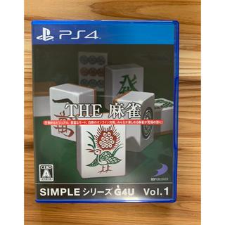 プレイステーション4(PlayStation4)のTHE 麻雀 ps4(家庭用ゲームソフト)