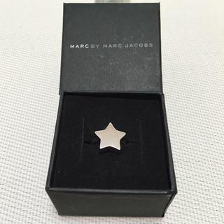 マークバイマークジェイコブス(MARC BY MARC JACOBS)の新品❤️マークバイ星型リング☆💍(リング(指輪))