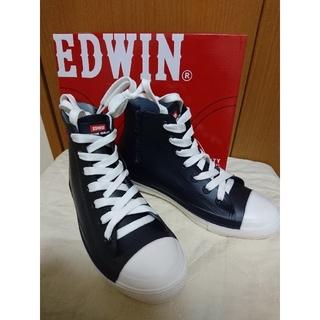 エドウィン(EDWIN)の新品☆EDWINレインシューズM(レインブーツ/長靴)