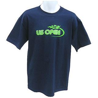 wilson -  ☆新品 未使用 Wilson US OPEN Tシャツ 紺 Mサイズ☆